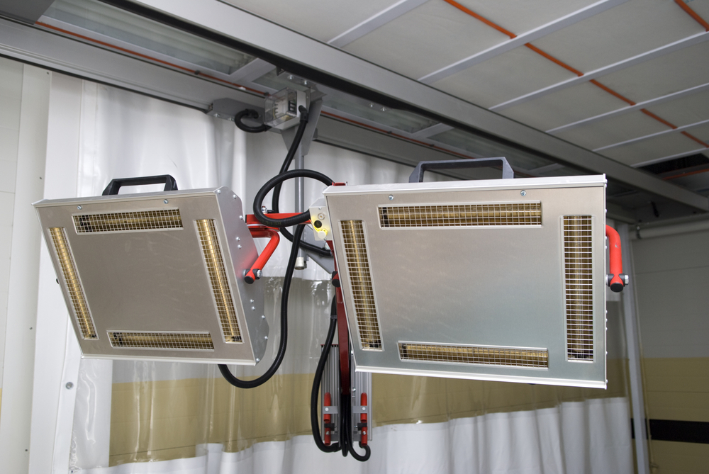 infrarood plafondpanelen
