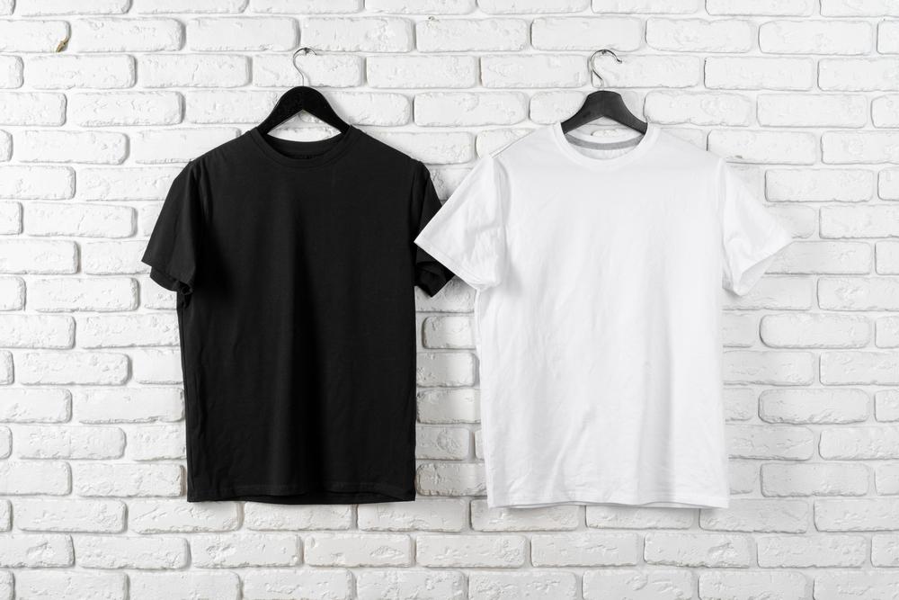 overhemd wit zwart